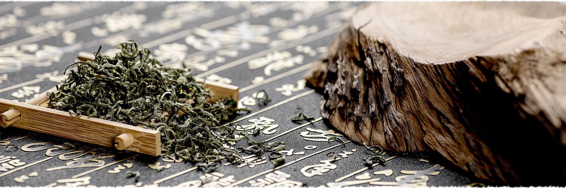 L'étonnant thé vert chinois Bi Luo Chun