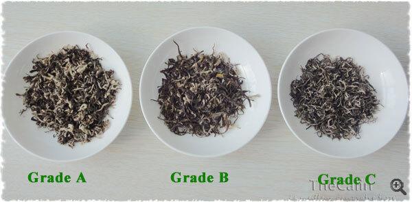 Les différents grades de Bi LuoChun