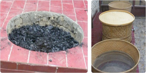 Torréfaction TieGuanYin YunXiang feu bois