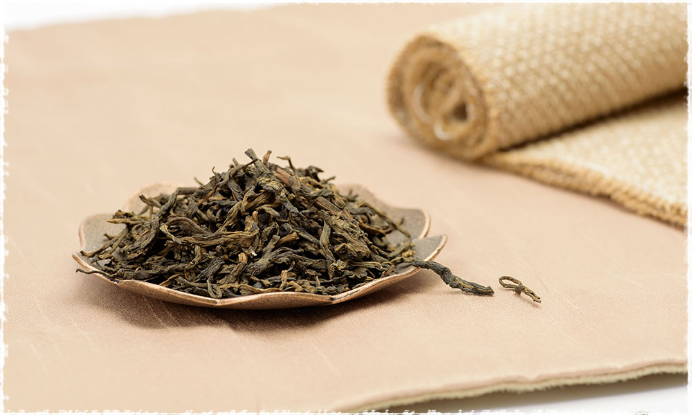 thé compressé de Liu Bao