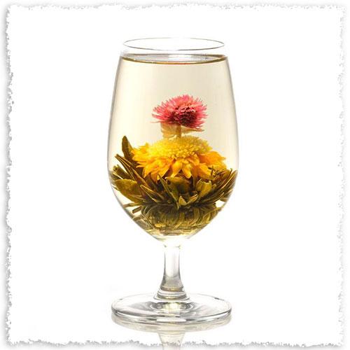 fleur de thé de Chine