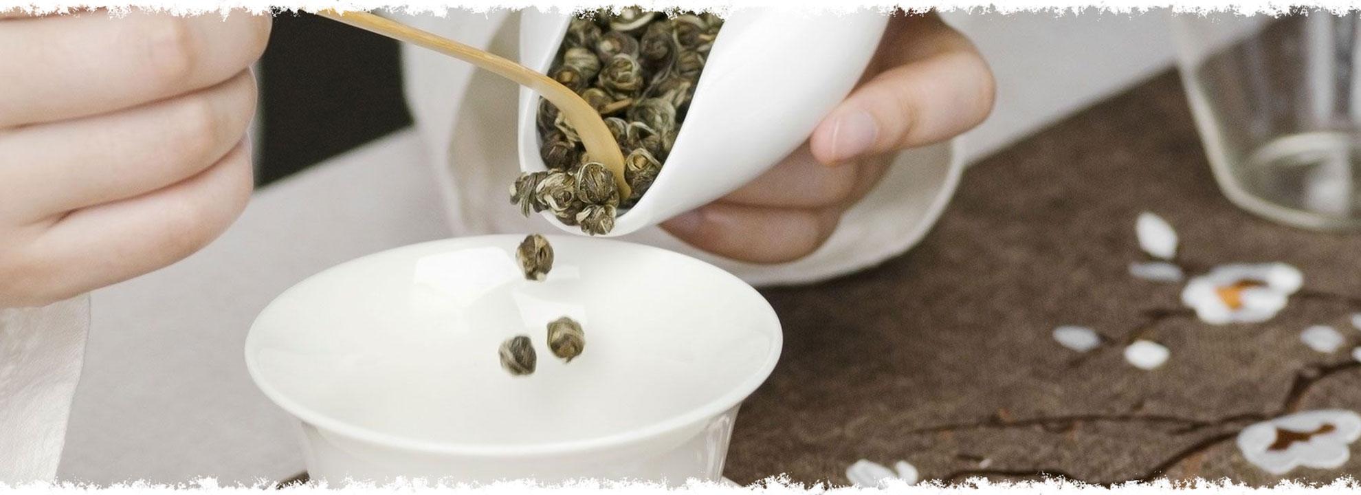 Perles du Japon parfumées aux perles de jasmin.