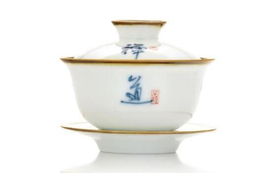 gaiwan, pour infuser le thé vert