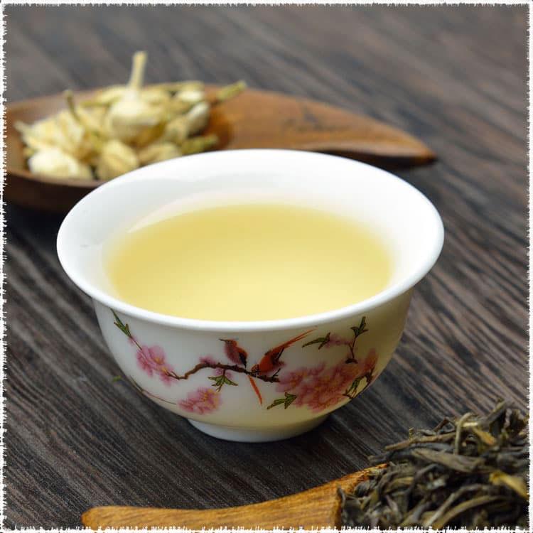 thé vert parfumé jasmin impérial yin hao
