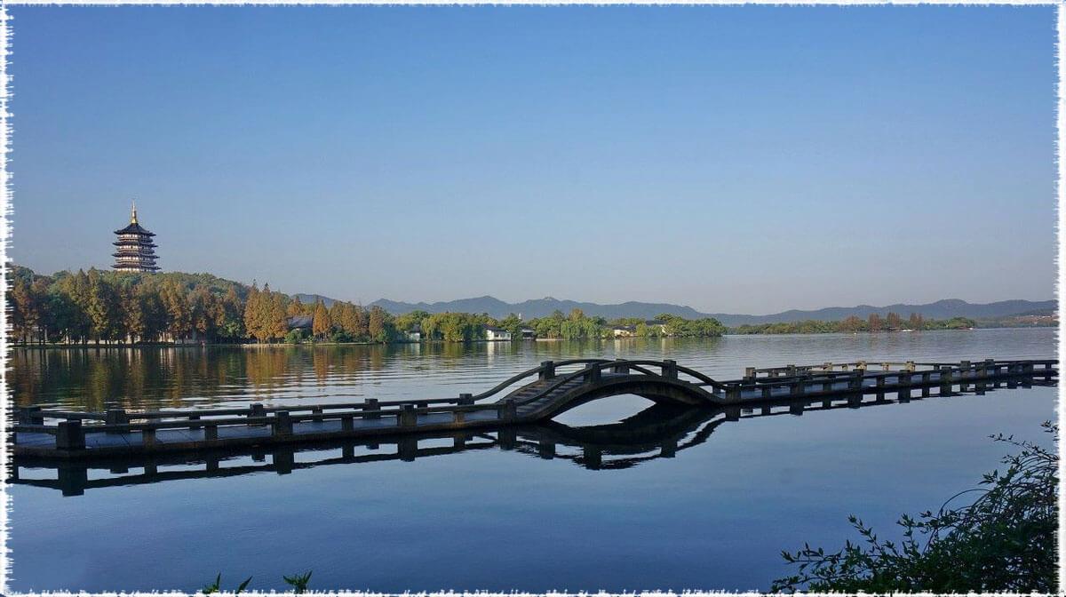 Le lac de l'ouest ou Xihu, Longjing