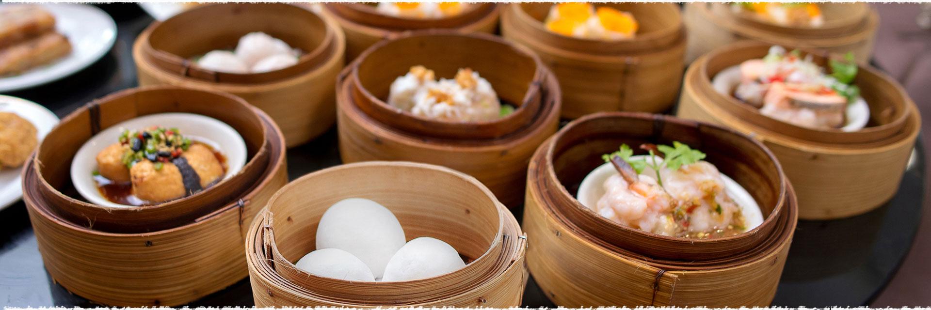 Les maisons de thé et les dim sum Cantonais