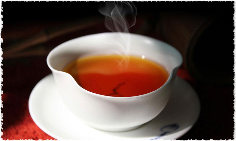 thé noir fumé