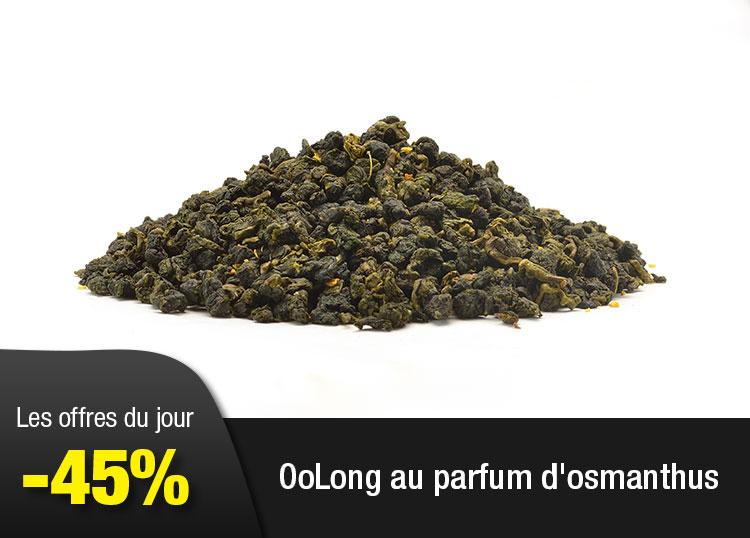 OoLong au parfum d'osmanthus