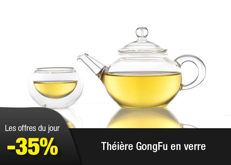 Théière GongFu en verre
