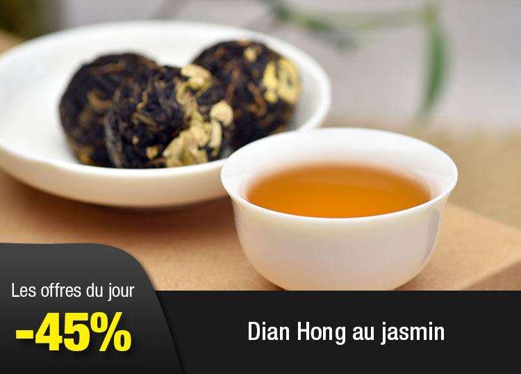 Dian Hong au jasmin