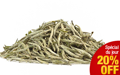 Aiguilles d'Argent - BaiHao YinZhen : thé blanc