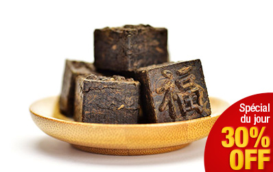 Fang Tuocha : briquettes de Pu Erh Shu