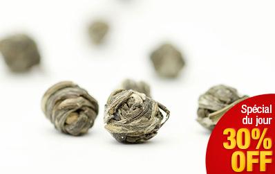 Perles du Dragon Long Zhu: thé vert perfume