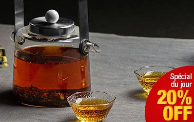 Théière en verre Cristalline 900 ml