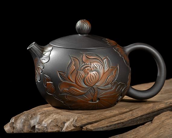 Théière Jiangshui Zitao Xishi Lotus 280 ml