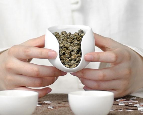 Award Winning Premium Jasmine Dragon Pearls Green Tea